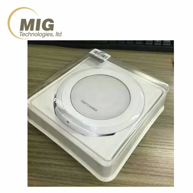 Best Price Stand Fast Wireless Charging Pad For Samsung Galaxy S6 / S6 edge QI wireless charger for Samsung Galaxy S7 / S7 Edge