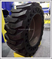 Bias solid skid steer loader tyre 20.5/70-16