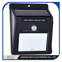 Super Bright 25 LED Waterproof Garden Solar Motion Sensor Lights/ Hotsell Outdoor Solar Lighting