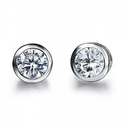 Free Shipping Classic Design Zircon Ozil Stud <strong>Earrings</strong>