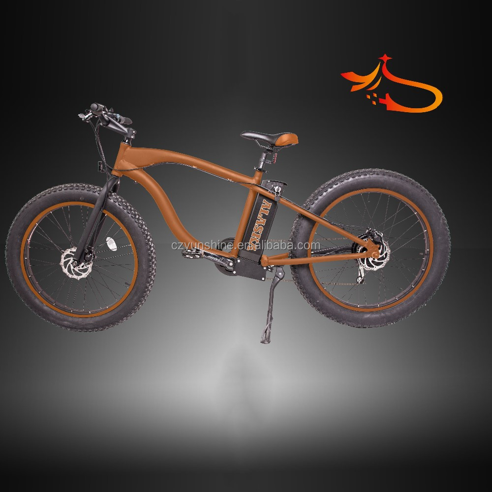Alaska ,mountain type fat tire electric bike