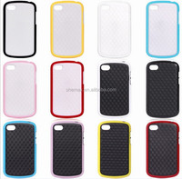 High Quality Soft Shell Case Cover for Blackberry Q10 TPU Case Cover