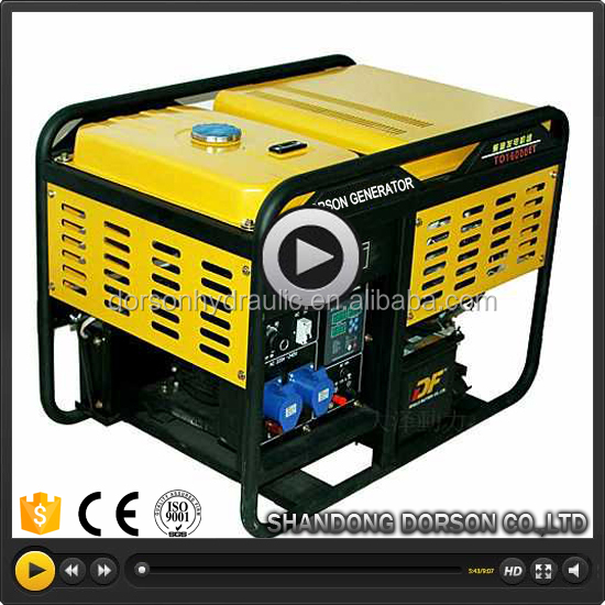 2kw-10kw open/silent type single cylinder single/three phase CE&ISO diesel generator price in india