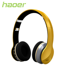 Haoer Wireless Bluetooth Stereo Cool Headphones with Mic