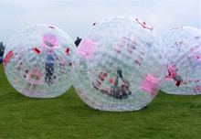 human sized inflatable hamster ball for adults, inflated zorb ball for children