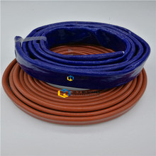 Factory supply fiberglass silicon rubber wire insulation sleeve with great price
