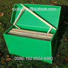 best corrugated PP package box folding plastic carton
