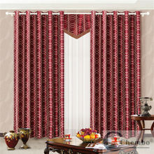 electrical ready board control system motorized floral blackout curtain