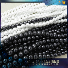 2017 Hot selling black color fake cultured loose pearl beads for imitation jewelry