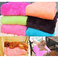 Soft Superior Practical Coral Soft Warm Pet Dog Puppy Cat Fleece Blanket Towel