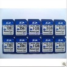 Factory price OEM customized small capacity SD card 128MB/256MB/512MB