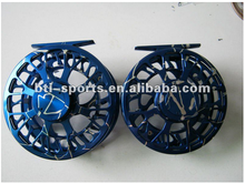 CNC large arbor waterproof light weight fly reel