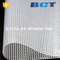 Haining Anti-uv covering transparent PVC Mesh waterproof protection pvc canvas tarp/PVC zipper bag