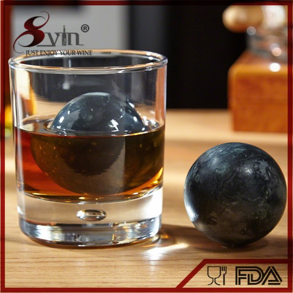 ball shape soapstone lamp for drinks NT-WS12-7