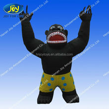 The cool gorillas model, various advertising smart large inflatable animals