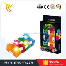 New Intelligence toys amazing infinite cube light up cube