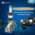 Good heat dissipation IP68 single beam hi/lo beam H1/H3/H7/H8/H9/9003/9004/9005/9006 H4 car led headlight bulb h11