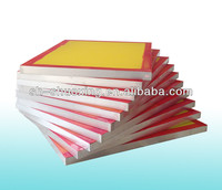 Aluminum screen printing prestreched frames, silk screen frames