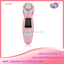 rechargeable electric multifunction galvanic facial massager skin care home use beauty machine