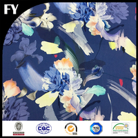 High quality custom digital printing of textile fabric