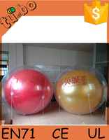 hot sale cheap wonderful PVC giant inflatable ball, advertising balloon for promotion or decoration