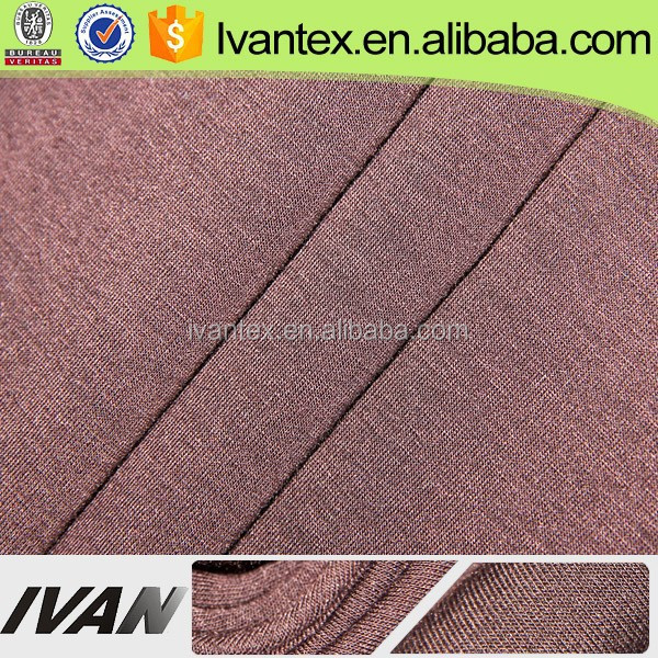 China Factory Low Cost 95%Polyester 5%Spandex Fabric, Dyed Fabric, Elastic Fabric