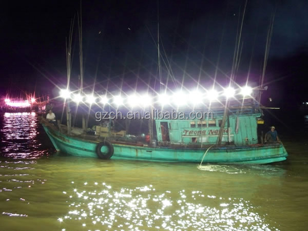 50w 100w 200w 500w Water Proof Ip65 Fishing Boat Lighting