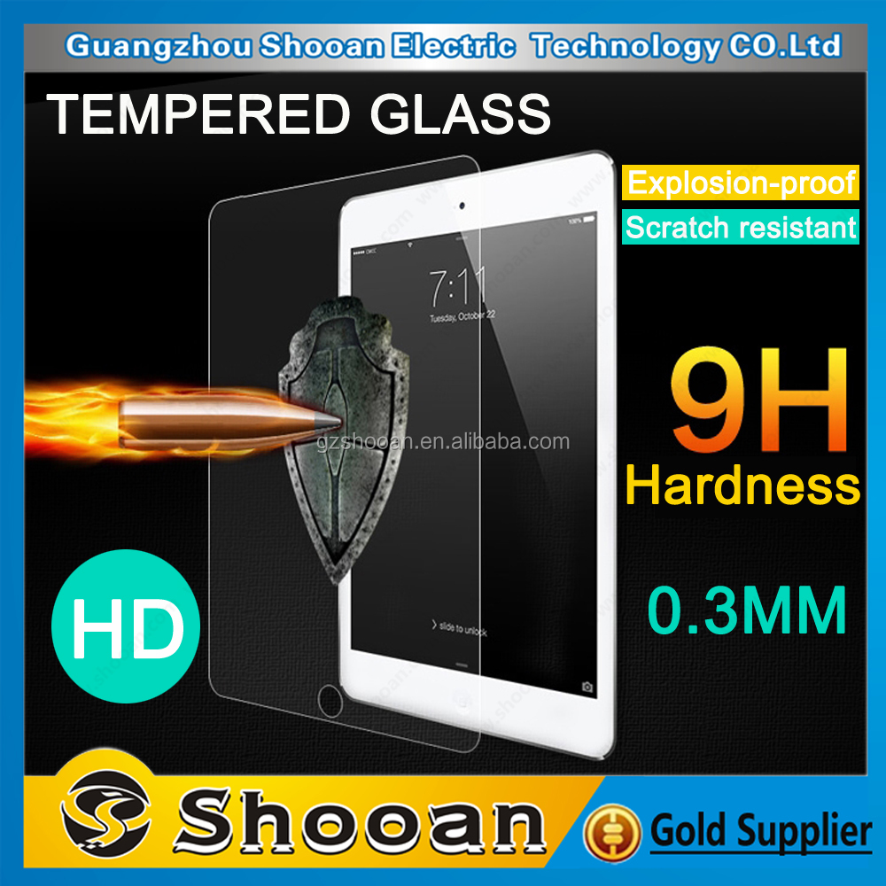 Best Promotion 3d curved full corning gorilla glass tempered glass for ipad 4