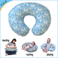 Cotton remove cover poly filling u-shape feeding pillow