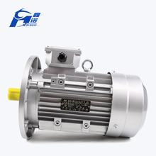 Best quality cheap powerful 380v three phase asynchronous 3kw electric ac motor with aluminium housing