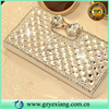 Fashion Rhinestone Diamond Studded Cell Phone Case For Iphone 6 Leather Cover