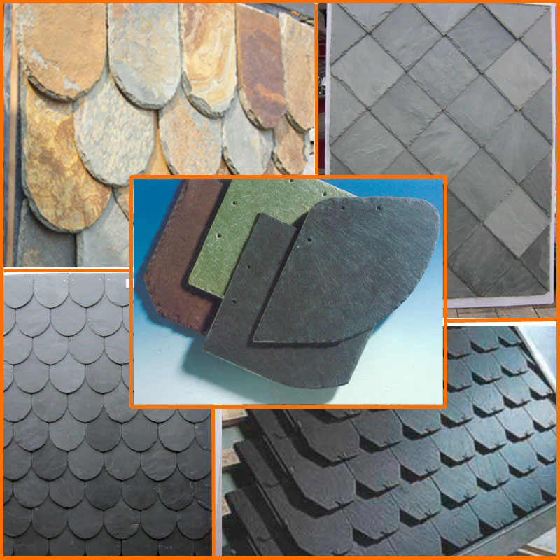 Natural slate roof tile/stone roof designs