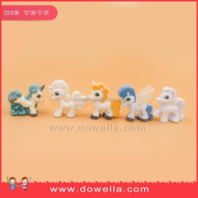 Horse flocking PVC figurine, small horse/pony collection 32 styles toys in Universal audit factory