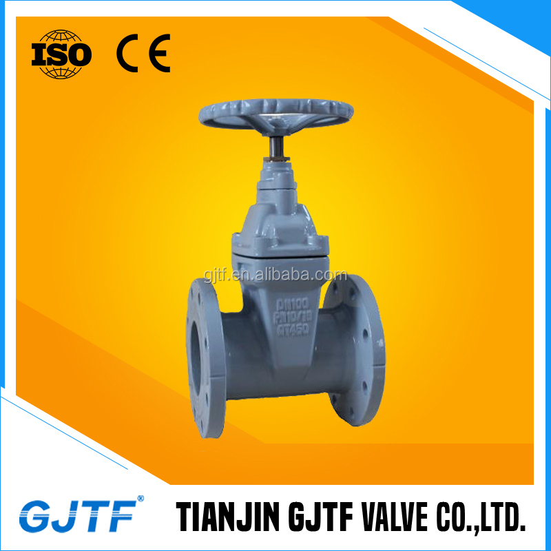 Non-standard Cast/Stainless Steel Body Material Class 125/150 PN10/16 DN100 Flanged Connection Gate Valve