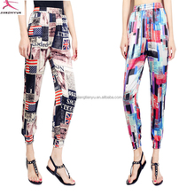 trendy baggy beach trousers floral casual pants indian women whalesale harem pants