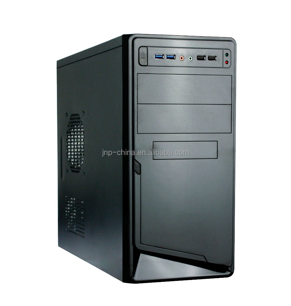 New Custom Branded Horizontal 4 USB PC ATX Computer Case for Desktop