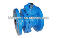 cast iron float API ball valve body