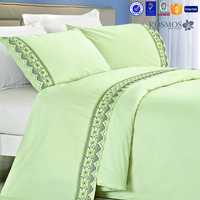 KOSMOS home textile lace embroidery cotton bed sheets canada