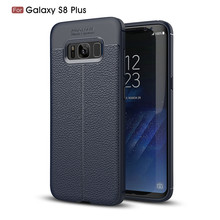 New products bendable leather design soft shockproof tpu cell phone back cover for Samsung Galaxy Note S8 case