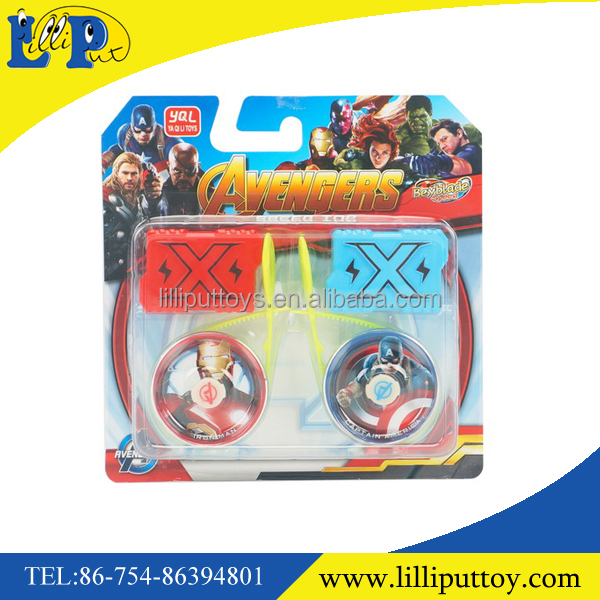 Best selling fashion 2pcs battle spin top toy