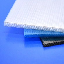Plastic Polycarbonate Glass PC Sunshine Board Polycarbonate Multi Wall Hollow Sheet