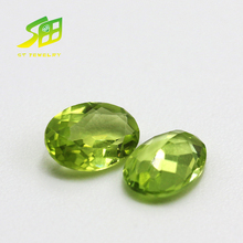 wholesale Oval shape 5 x7mm natural Peridot loose gemstone