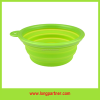 Free shipping 300ml silicone pet food storage container