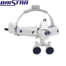 2018 Best selling dental optical loupes with LED head light