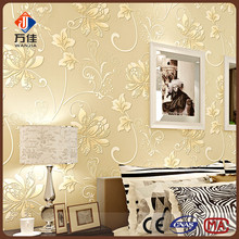 Living room decorative self adhesive 3d cheap wallpaper wholesaler in China