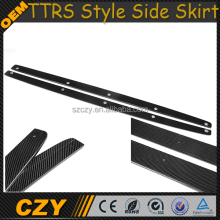 TTRS Carbon Auto Lip Skirt for AUDI TT 8J TTS Convertible Car