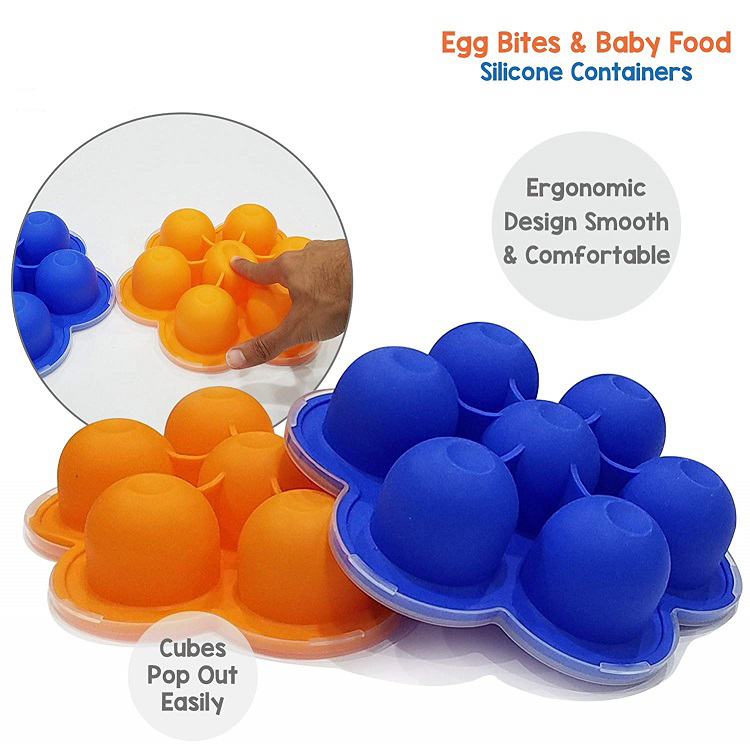 Multipurpose Large Size Reusable Baby Frozen Food Tray
