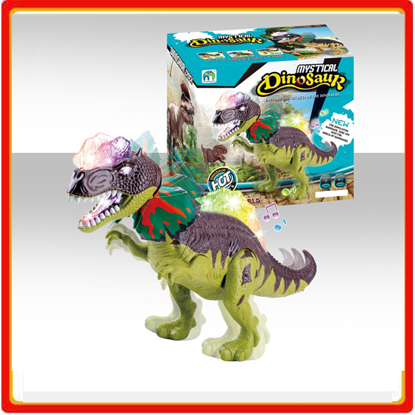 children walking led dinosaur toys with light and sound