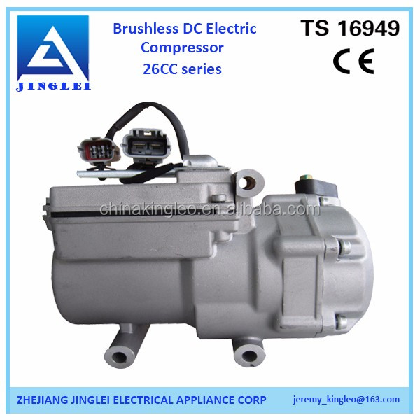 electric car dc air conditioner 48v compressor