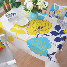 high quality 100% cotton linen restaurant table cloth